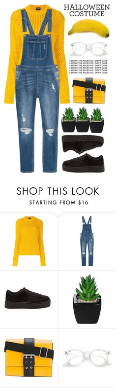 """""""Be a minion"""" by taniacy ❤ liked on Polyvore featuring Calvin Klein and Versus"""