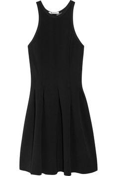perfect LBD!     T by Alexander Wang Pleated neoprene dress NET-A-PORTER.COM