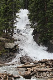 Imogene Pass waterfall between Ouray and Telluride....where my hubby proposed 11 years ago :)