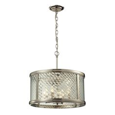 ELK Lighting 31462/4 Chandler Collection Polished Nickel Finish
