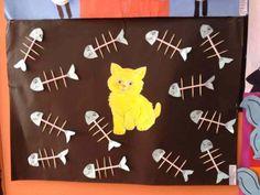 cat bulletin board | Crafts and Worksheets for Preschool,Toddler and Kindergarten