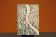 City map poster  #justmaps #poster #map #mapposter #print #gift