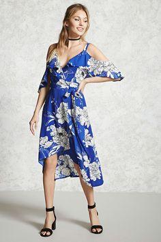 Vestido Midi Floral - Contemporary