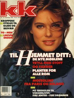 Renée Toft Simonsen in Norwegian KK - September 1990