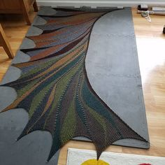 Ravelry: Project Gallery for Rigoles pattern by maylin Tri'Coterie Designs