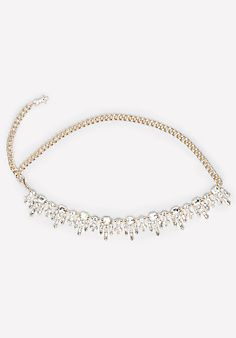 Jeweled Fringe Chain Belt - What a waist. Haute chain belt detailed by shimmering fringed crystal clusters. Trendy Accessories, Fashion Accessories, Fashion Jewelry, Chain Belts, Contemporary Fashion, Jewels, Handbags, Chic, Diamond