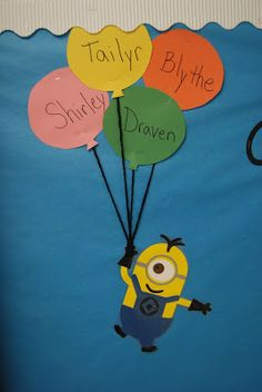 Smith Craft Adventures: Minion Bulletin Board