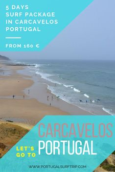 5 DAYS SURF PACKAGE IN CARCAVELOS   PORTUGAL what is included :  ~ 5 nights accommodation with breakfast  ~ 3 surf lessons with certified local instructors  ~ beach transfer to the best surf spot  ~ bed linens & towels  ~ Wi-Fi  ~ BBQ or dinner #surf #in #carcavelos #portugal #surfHoliday #surfVacation #surfing #waves #atlantic #ocean #active #holiday #travel #surfTrip #portugalsurftrip Best Surfing Spots, Surf Trip, Yoga Retreat, Atlantic Ocean, Bed Linens, Holiday Travel, Wi Fi, Towels, Portugal