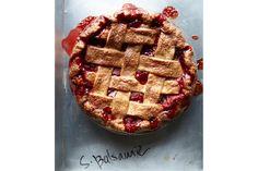 Strawberry Basalmic pie | Four and Twenty Blackbirds