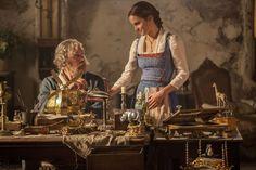 La Belle et la Bête : Photo Emma Watson, Kevin Kline