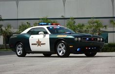 Florida Police car....Dodge Challenger R/T ...american muscle meets law enforcement