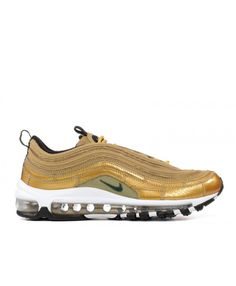 air max 97 mens - discover nike air max 97 silver bullet, black, white shoes for womens & mens with cheapest price and top style at our online shop. Now pick your pairs! Cheap Nike Air Max, Nike Air Max For Women, Nike Women, Nike Air Max Trainers, Sale Uk, Air Max 97, Cristiano Ronaldo, White Shoes, Metallic Gold