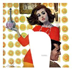 The Love Potion - Saturday Evening Post Leading Ladies, August 6, 1960 pg.17 Giclee Print by Coby Whitmore at Art.com