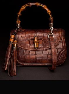 Gucci's new Bamboo Bag, takes 13 hours to hand-make each purse!