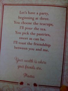 Tea Party Invite                                                       …