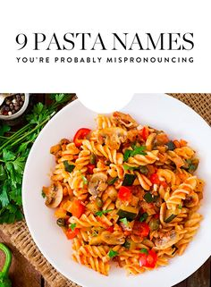 Save this simple guide and nailing your pasta pronunciation every time.