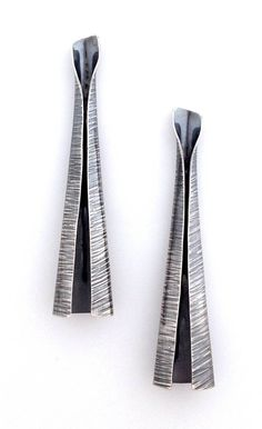 Elaine Rader Jewelry, cone earrings