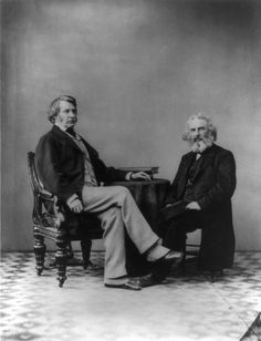 Charles Sumner and Henry Wadsworth Longfellow