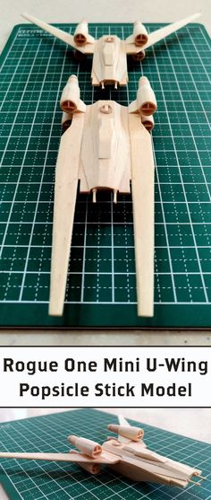 How about a four-day, popsicle stick mini model project?