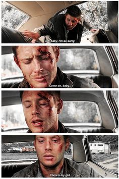 Dean talking to his one and only Baby. 11x04 Baby