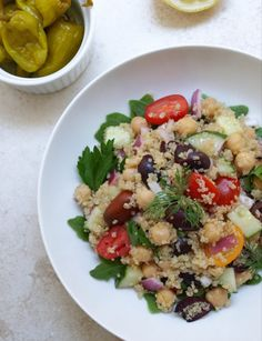 Ladypreneur Ramadan Recipes: Chickpea and Quinoa Salad. Suhoor is probably the most difficult and the most important meal of Ramadan. It's not easy trying to eat a complete and healthy meal i…