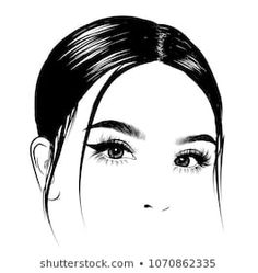 Find Illuistration Girl Silky Hair Perfect Salon stock images in HD and millions of other royalty-free stock photos, illustrations and vectors in the Shutterstock collection. Perfect Eyebrow Shape, Perfect Eyebrows, Eyebrows Sketch, Perfect Red Lips, Lashes Logo, Art Drawings Beautiful, Cute Girl Drawing, Business Hairstyles, Beauty Art