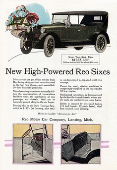 1924 Reo New Touring