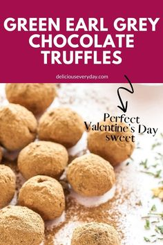 The best thing about making your own truffles is the ability to make them with whatever flavor takes your fancy. They also make a wonderfully personal and touching gift! #valentines #sweettreats #truffles #chocolates #easydessert #baking Chocolate Sweets, Chocolate Truffles, Chocolate Lovers, Chocolate Recipes, White Chocolate, Kitchen Hacks, Diy Kitchen, Earl Grey Tea, Functional Kitchen