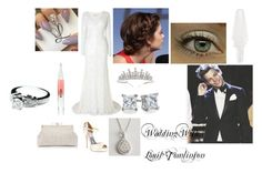"""Wedding With Louis Tomlinson"" by e-alisha ❤ liked on Polyvore featuring Phase Eight, Forever New, Monsoon, Stila, Armadani and Blue Nile"