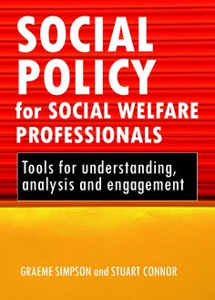 This valuable book explores some of the difficulties and dilemmas faced by those who deliver welfare in a changing policy context.This book seeks to develop an analytical skills-based approach to understanding the role and importance of social policy in social welfare practice, and will encourage and enable readers to understand, analyse and engage with policy. It will be of great value to students of social work and other welfare professions, and their teachers.