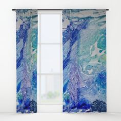 Water Scarab Fossil Under the Ocean, Environmental Window Curtains by ANoelleJay | Society6