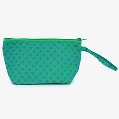 Small Zip Pouch - Aloe Green