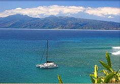 Maui Lahaina Hawaii Catamaran Sail and Snorkel. Here's where I'm going in two weeks!
