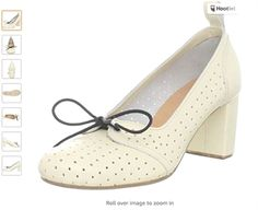 White Leather Shoes, White Heels, Leather Wedges, Leather Sandals, Shoes Heels Pumps, Suede Heels, Happy Shoes, Swedish Hasbeens, Leather Fashion