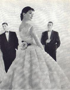 party dress 1955