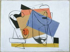 Abstraction by Ilya Bolotowsky // Phillips Collection