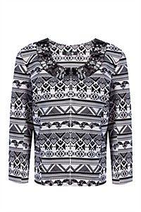Aztec Print Jacket from Mr Price Mr Price Clothing, Print Jacket, Aztec, Christmas Sweaters, Kids Fashion, Africa, Men Sweater, Denim, Lady
