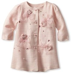 Biscotti Baby-Girls Infant Ode To Chanel Coat, Pink, 12 Months Biscotti,http://www.amazon.com/dp/B00ASKR0VO/ref=cm_sw_r_pi_dp_0-F1rb1X2BBA886T