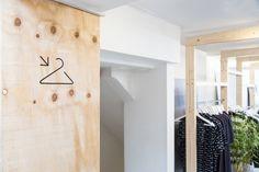 sfd Serge Denimes store design LCM soho minimal