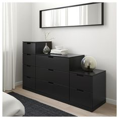 42 Relaxing Ikea Ideas For Interior Design. Are you in the process of redesigning your home? Do you want to find unique pieces to make your room decorating complete? Trendy Furniture, At Home Furniture Store, Modern Home Furniture, Furniture Nyc, Black Furniture, Cheap Furniture, Small Drawers, Chest Of Drawers, Stores Like Ikea