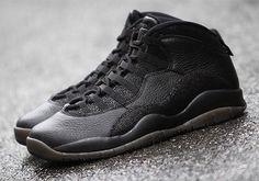 reputable site 70ef6 c0e37 OVO Jordan 10 Black Detailed Images   SneakerNews.com Ovo Jordans, Nike Air  Jordans