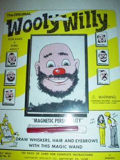 Wooly Willy- still fun