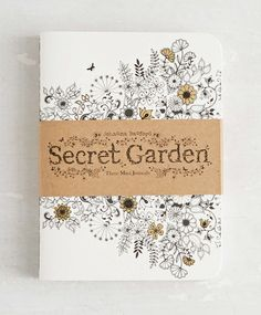 Secret Garden: Three Mini Journals | Anglo Dutch Pools and Toys