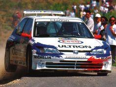 Peugeot 306 Maxi rally car