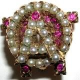 Before I graduate next year, I really want to get one of these pearl AOII badges.