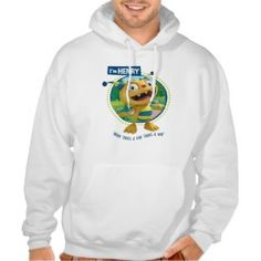 Henry - Where there's a roar there's a way! Hoody from Disney's Henry Hugglemonster. Available in kids, men's and women's styles. Henry Hugglemonster, Hoody, Customized Gifts, Sweatshirts, Kids, Personalized Gifts, Young Children, Boys, Personalised Gifts
