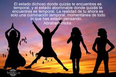 The #joyous #place you may be #standing is #temporary, and the #abhorrent place that you may be standing is temporary. Your now #reality is only a temporary, #momentary culmination of what you've been thinking about. - #Abraham-Hicks  @chisioanabianca