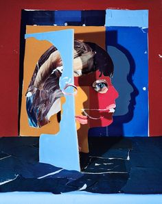 Colagens Tridimensionais de Daniel Gordon