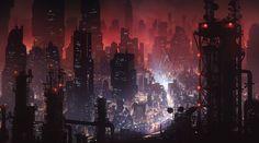 Cyberpunk city by Tarmo JuholaA quick cyberpunk city test Cyberpunk City, Cyberpunk Kunst, Futuristic City, Cyberpunk Tattoo, Cyberpunk Fashion, Cyberpunk 2077, Dark Artwork, City Wallpaper, 1080p Wallpaper