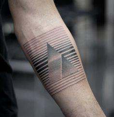 Linework triangles by Niko